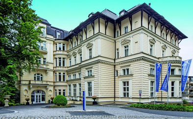 Hotel Reitenberger Hof In Marienbad